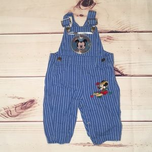 Mickey Mouse overalls size 6-9 Months